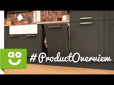 NEFF Slimline Intergrated Dishwasher S58T69X1GB Product Overview | ao.com