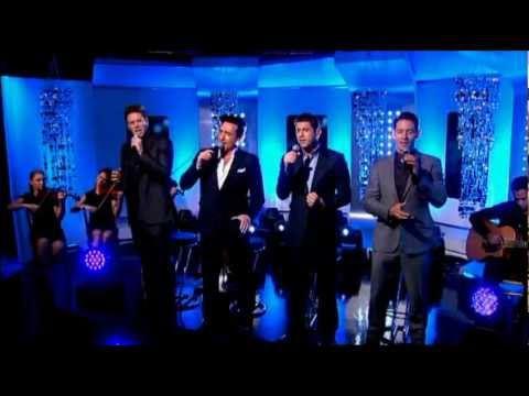 Il Divo - Can't Help Falling in Love (Live This Morning)