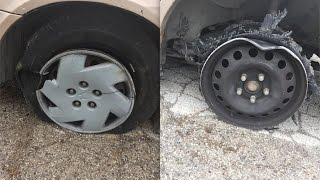 What Happens if you Drive on a Flat Tire