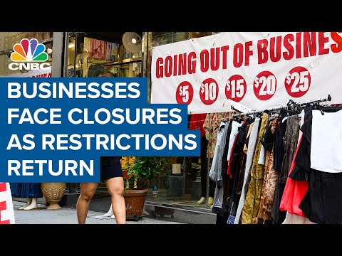 Businesses face closures, more layoffs as Covid-19 restrictions return