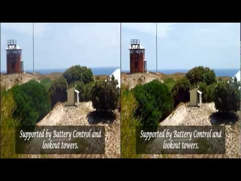 Colonial Buildings of Rottnest Island in 3D or 2D