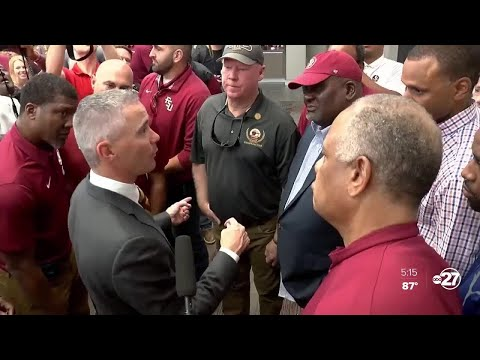 FSU head coach Mike Norvell says he's proud of Marvin Wilson, apologizes