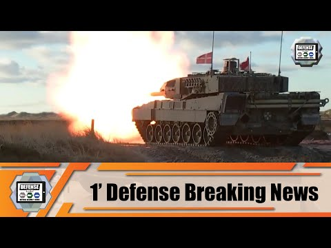 First trial tests for new German Army Leopard 2A7V Main Battle Tank MBT 1' Defense Breaking News