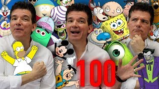 100+ Cartoon Impressions IN 5 MINUTES!