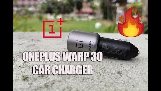 OnePlus Warp 30 Car Charger (30W Fast Charging) for Rs 1990