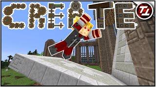 Launching Factory Door! - Minecraft Create Mod