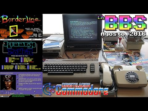 La BBS: Noticias Commodore 64, Amiga, VIC20, Plus4, PET (Agosto 2016)