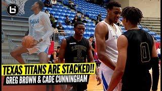 Texas Titans Want All The Smoke! Greg Brown & Cade Cunningham vs Legion!