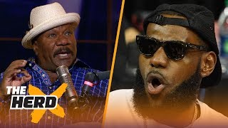 Ving Rhames: Tom Cruise is the LeBron James of Hollywood | NBA | THE HERD