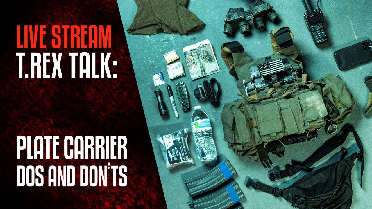 TREX TALK: Plate Carrier Dos and Don'ts