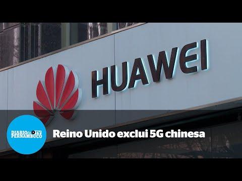 Reino Unido exclui gigante chinesa de sua rede 5G