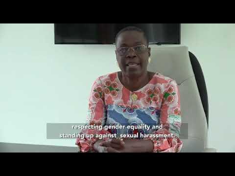CEDEF Présentation de la candidate YOLI-BI KONE MARGUERITE, Candidate de la COTE D'IVOIRE