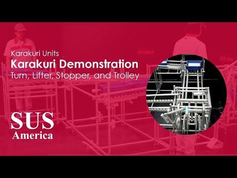 AMS MRS Rack System: Karakuri Zig-Zag Storage Rack ...
