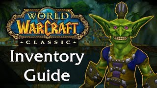 Classic WoW Inventory & Bag Guide