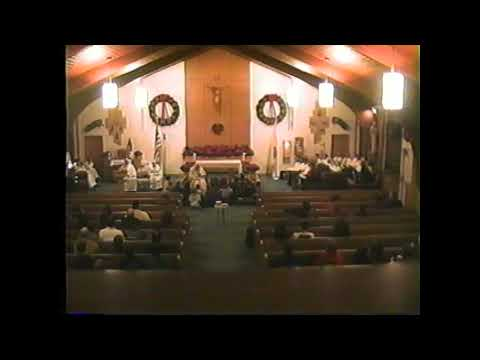 St. Joseph's Mooers Mass  12-24-03