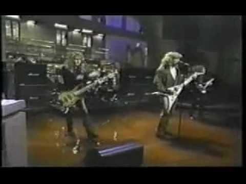 Megadeth - A Tout Le Monde (Live 1994 David Letterman Show)