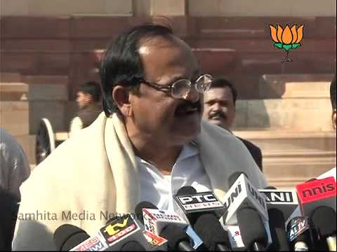 Karnatka Issue: Sh. Venkaiah Naidu: 24.01.2011