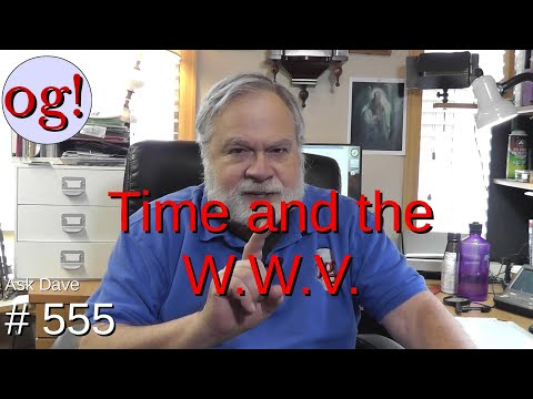 Time and the WWV (#555)
