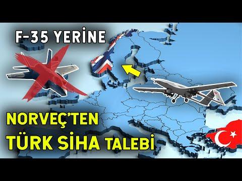 Norveç Türk SİHA'sı İstiyor! F-35 Yerine…