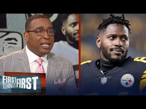 Cris Carter is disappointed in AB after social media antics | NFL | FIRST THINGS FIRST