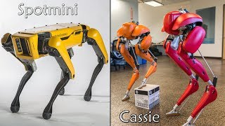Cassie vs Spotmini - 2 legged vs 4 legged Ai Robot