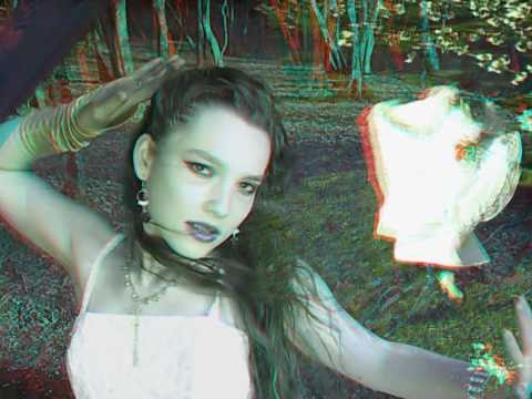 3D Anaglyph Stereoscopic musical videoclip - Letter to the Winter - Bernice
