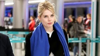 Lucy Boynton Of Bohemian Rhapsody Catches A Flight Out Of LAX