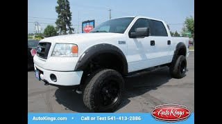 2008 Ford F-150 4WD SuperCrew Lariat FX4 *LIFTED* (BEND, Oregon)