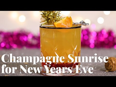 Champagne Sunrise for New Years Eve