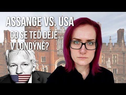 Reportáž z místa: Slyšení Juliana Assange v Londýně [#15 BEHIND THE SCENES]