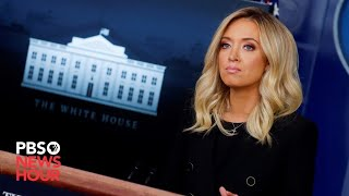 WATCH: White House press secretary Kayleigh McEnany gives news briefing