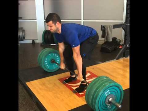 BJ Gaddour 500 lbs deadlift