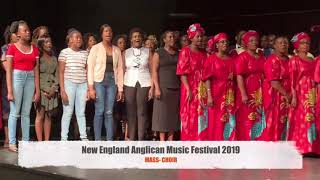 New England Anglican Music Festival 2019 Mass Choir