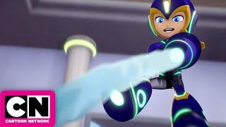 Mega Man: Fully Charged   Ice Man and Mega Man Team Up   Cartoon Network