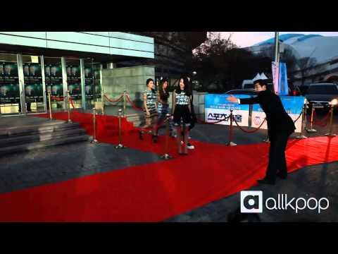 24th Seoul Music Awards red carpet: SISTAR