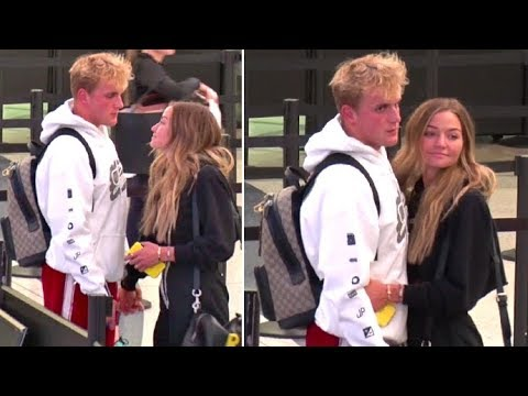 Jake Paul And Girlfriend Erika Costello SO IN LOVE As They Take A Trip As A REAL Couple
