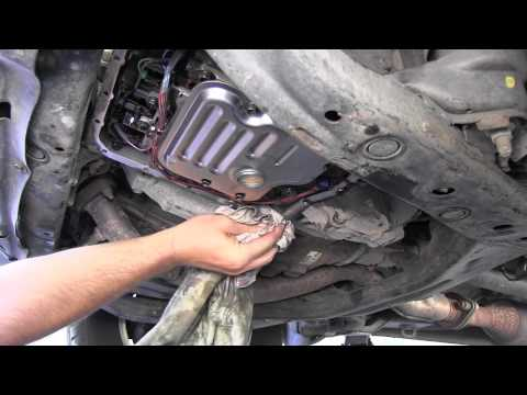 2008 Camry Transmission Fluid Change on 2010 tundra oil filter location