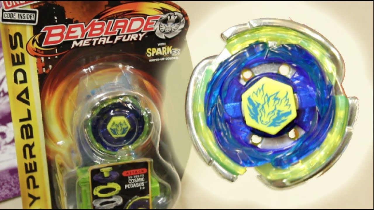 Cosmic Pegasus F:D HYPERBLADE SPARK FX UNBOXING & REVIEW ...