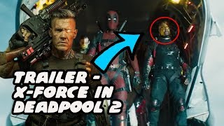 Terry Crews X Force Reveal & Why Cable Came To The Past  - Deadpool 2 Meet Cable Trailer Breakdown