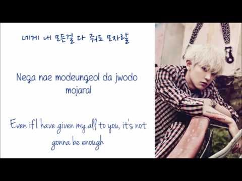 EXO - Promise (약속) (Korean Ver.) Color Coded Hangul/English/Romanized Lyrics