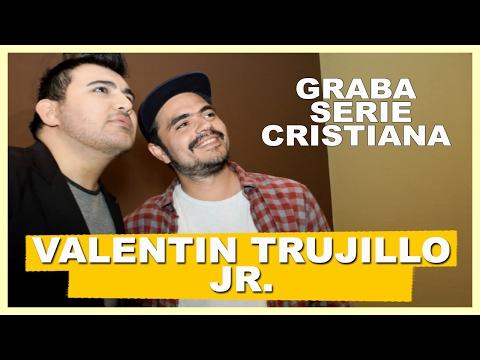 Entreviste A Valentín Trujillo Jr. En Una De Las Grabaciones De La Serie  Que Está Grabando