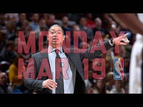 NBA Daily Show: Mar. 19 - The Starters