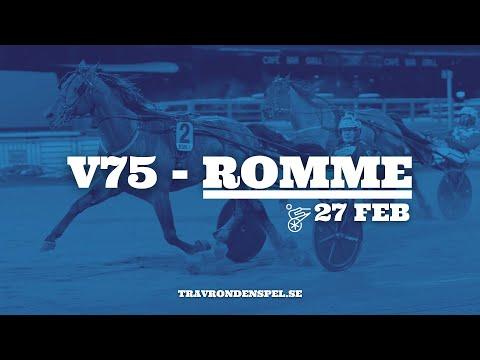 V75 tips Romme | 27 februari