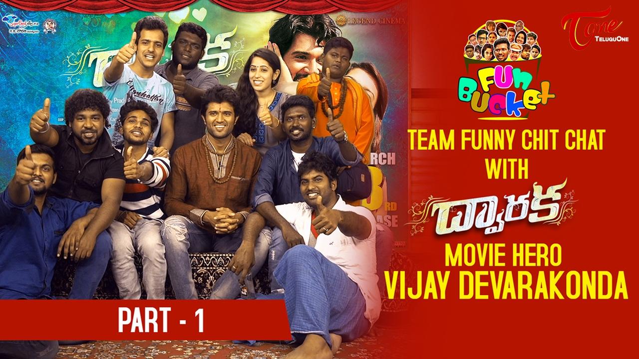 Fun Bucket Team Funny Skit with Dwaraka Movie Hero Vijay Devarakonda || Valentine's Day Special – 01