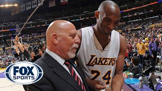 Lakers legend Kobe Bryant shared special bond with trainer Gary Vitti — Melissa Rohlin | FOX SPORTS