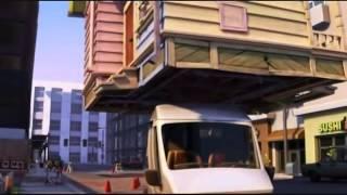 Up Pixar   Flying House Scene