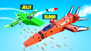WHO Can BUILD THE BEST FIGHTER JET?! (Trailmakers)