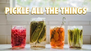 How To Make Pickles Without A Recipe