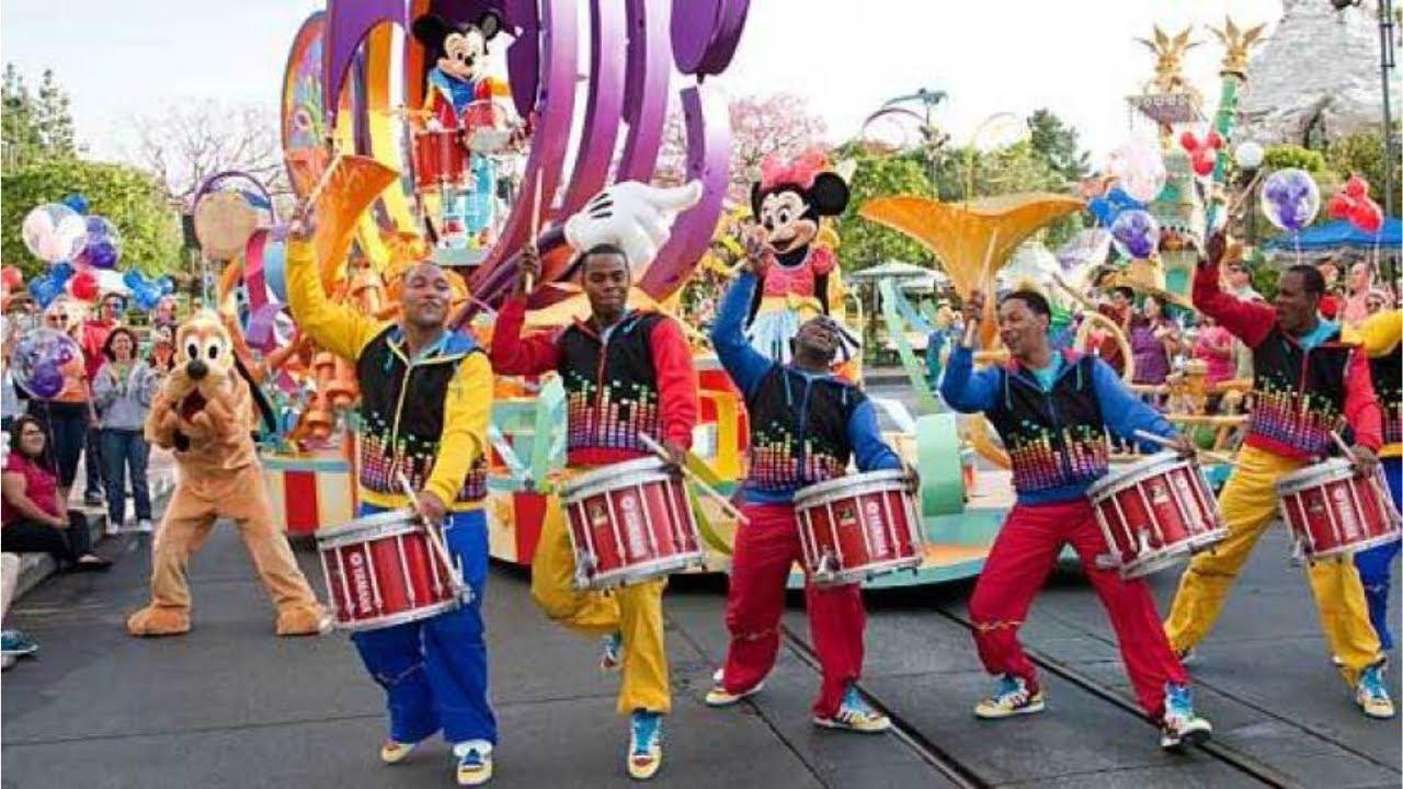Mickey's Soundsational Parade 2014 *Best Sound Disneyland ...
