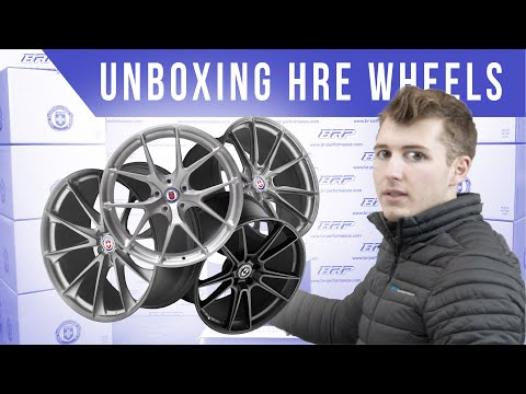 Unboxing HRE Wheels & GIVEAWAY By BR-Performance / *ENG/FR SUBS*